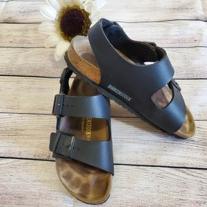 Birkenstock Double Strap Slide Sling Sandals